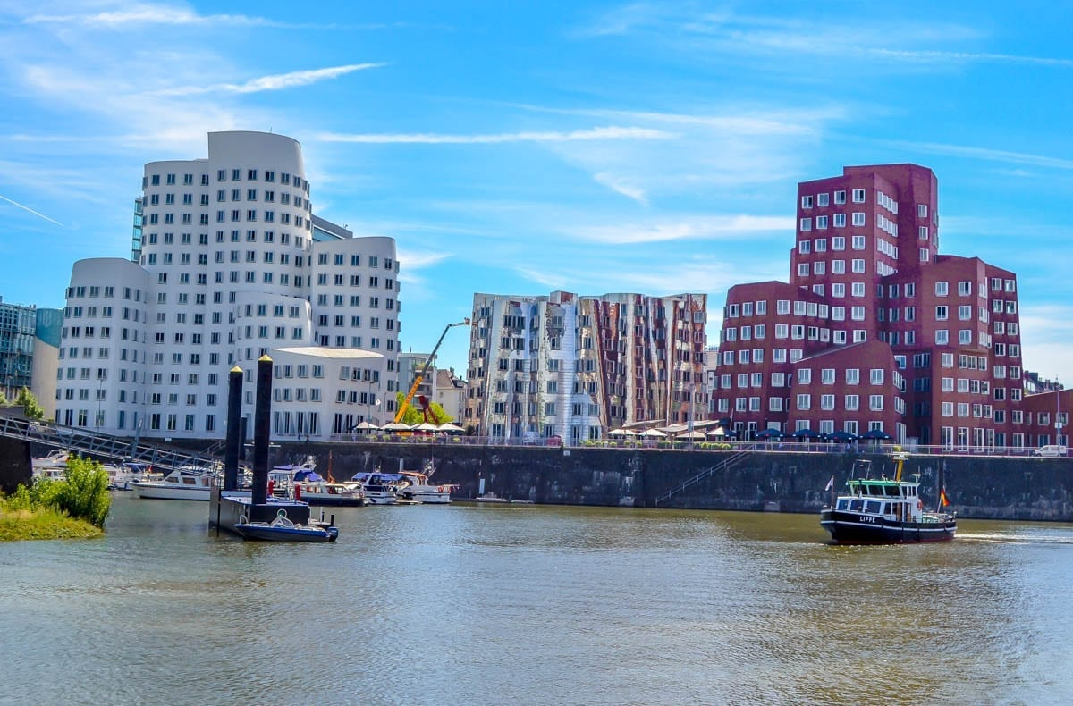4 of the Best Places to Explore Along the Rhine River in Düsseldorf