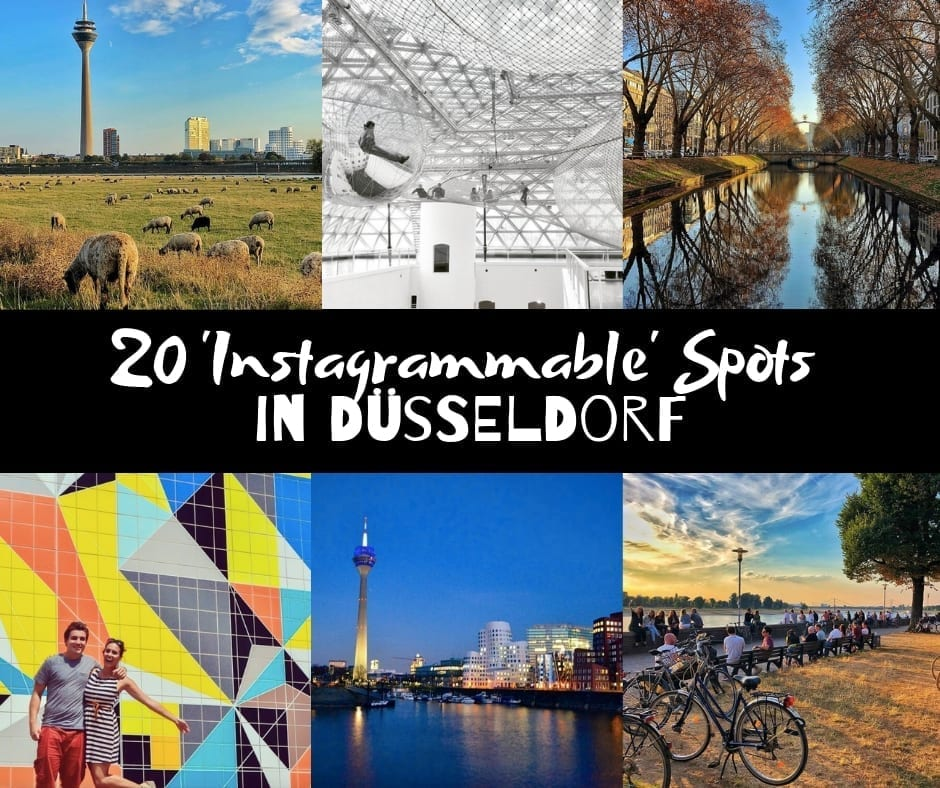 """The 20 Best and Most """"Instagrammable"""" Shots in Düsseldorf"""