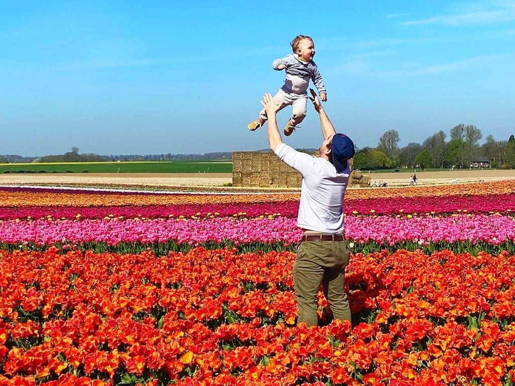 Check Out These Stunning Tulip Fields Just 15 Minutes From Düsseldorf